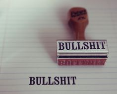 nice #seal #rubberstamp #idea #bullshit