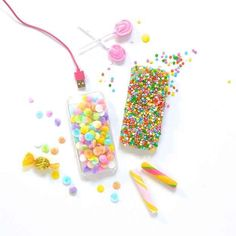 Protect your iPhone with a candy-covered case.