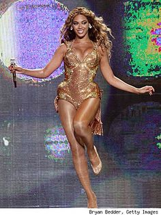 Beyonce - she is a real down to earth humble beautiful person and an amazing performer.