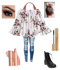 """""""Untitled #19"""" by erin-h-kelley on Polyvore featuring Youmita, Madden Girl and Yves Saint Laurent"""