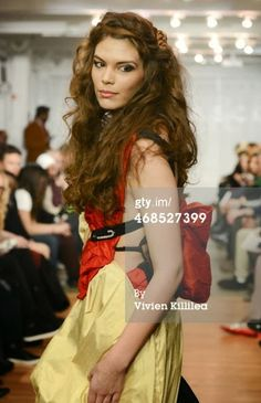 That IMTA Blog: IMTA Alum Model Celilo Miles for Mischka Velasko - New York Fashion Week Fall 2014!