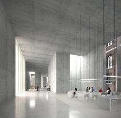 EBV | ESTUDIO BAROZZI VEIGA  the strand quadrangle . king's college . london