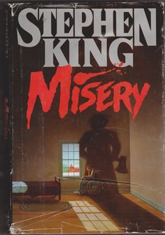 """My fave SK book, a gift from my parents...at a difficult time in my life...inscribed """"Misery loves company, luv Mom & Dad""""....don't know which of them thought of writing that in it."""