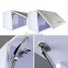Vertical Swing Lift Up Mechanism Kitchen Interior