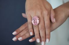 This Pink 59-Carat Diamond Could Be the Most Expensive Ring Ever Sold