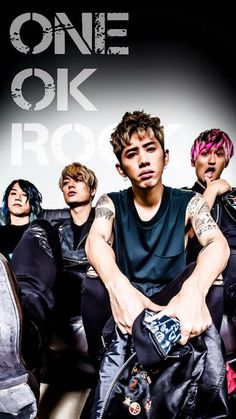 Listen to every One OK Rock track @ Iomoio All About Music, My Music, One Ok Rock 壁紙, Band Wallpapers, Bmth, Anime Music, First Story, Visual Kei, Pop Rocks