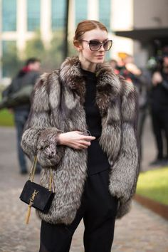 Milan fashion week, street style