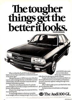 #Audi 100 (1982) #tradition