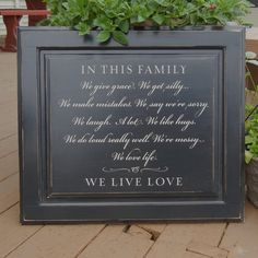 In this family sign on reclaimed wood by OldBarnRescueCompany, $46.00