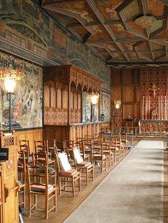 CUBO ET EXCUBO: Falkland Palace, Chapel Royal