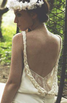 Robe Sohie Sarfati disponible chez Boutique Marjorie mariages et réceptions au 23 rue Louis Mie à Périgueux.