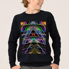 PYRAMID  - Enjoy Healing Energy Spectrum Sweatshirt - anniversary gifts ideas diy celebration cyo unique