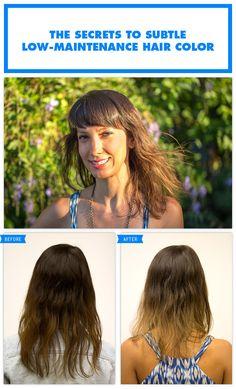 The Secrets to Subtle, Low-Maintenance Hair Color