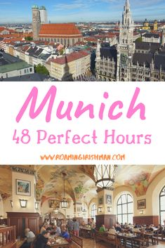 A city-break or 48 hours in Munich is enough time to fall in love with the Bavarian capital. This itinerary will guide you through your time there. European Travel, Travel Europe, Budget Travel, Italy Travel, Travel Guide, Beautiful Park, Short Trip, Best Places To Travel, City Break