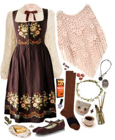 I would call this natural kei and not mori kei, but it's cute. Cute Fashion, Girl Fashion, Fashion Outfits, Grunge Outfits, Fashion Styles, Baba Yaga, Librarian Style, Looks Vintage, Mori Girl