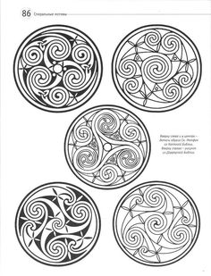 """These are all celtic knots that are generally called """"Ceilidhs,"""" which in Gaelic means a community gathering and celebration. It's pronounced, """"Kay-Lee"""" Like me. ^_^ Possible tattoo ideas down the road Más Celtic Symbols, Celtic Art, Celtic Knots, Irish Symbols, Celtic Patterns, Celtic Designs, Magia Elemental, Celtic Images, Zentangle"""
