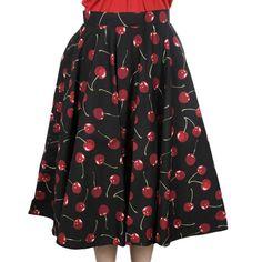 Miss Elinor -Cherry Hame Christmas Is Coming, Skater Skirt, Cherry, Skirts, Fashion, Moda, Fashion Styles, Skater Skirts, Skirt