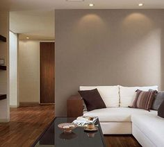 Dark Brown Color, My Room, New Homes, Couch, Diy Crafts, Living Room, Interior Design, Wallpaper, Furniture