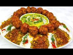Kichiri Quroot   کچری قروت Afghan Food Recipes, Iranian Food, International Recipes, Tandoori Chicken, Banana Bread, Lamb, Deserts, Good Food, Beef