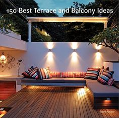 Small urban garden design – ideas for the modern outdoor space - Decoration 2 Backyard Design, Deck Design, Small Backyard, Outdoor Entertaining Area, Outdoor Rooms, Exterior Design, Outdoor Decor, Modern Courtyard, Courtyard Design