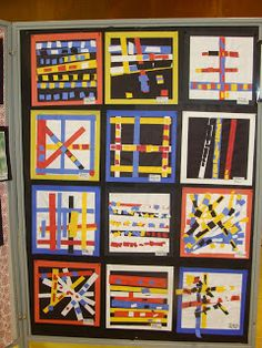mrspicasso's art room: Search results for mondrian