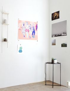 BLOOM youth exhibition, spring 2014. Ahn Hye Jin, Eero Lampinen, Milena Huhta, Eija Vehviläinen, Anna Niskanen