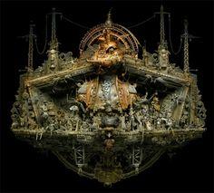 sculptures by Kris Kulski