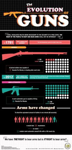 Guns and gun violence aren't the same as in the 1700's.