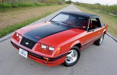 1984 Ford Mustang GT convertible...