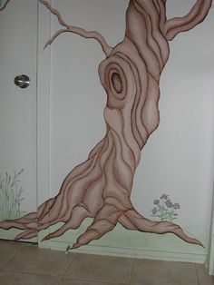 How to Paint a Tree | Mary Patterson Interior Painting :: Murals