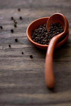 Pepper — Pepper is added to amulets as a protectant against the evil eye, and when worn, it frees the mind of envious thoughts. Mixed with salt and scattered about the property, it dispels evil. | SOURCE: The Wiccan Garden (http://angelfire.com/on/wicca)