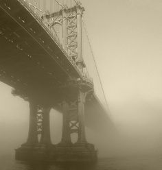 Manhattan Bridge in Deep Fog | Flickr - Photo Sharing!