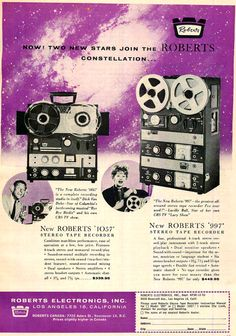 Another celebrity ad for Roberts, featuring Lucille Ball and Dick Van Dyke, the two most-popular and influential comedians of movies and television in the 1960s.