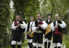 O Grupo Treixadura actuando nos Premios Xerais 2005