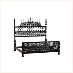 Goa Royal Carved Bed,Indo ,Portuguese ,Four ,Poster ,Bed