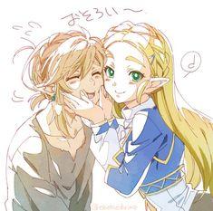 Legend of Zelda Breath of the Wild The Legend Of Zelda, Legend Of Zelda Memes, Legend Of Zelda Breath, Cry Anime, Anime Manga, Anime Art, Fanarts Anime, Anime Characters, Image Zelda