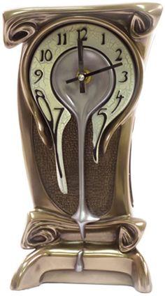 Buy online, view images and see past prices for ART NOUVEAU MELTING CLOCK - BRONZE. Invaluable is the world's largest marketplace for art, antiques, and collectibles. Melting Clock, Muebles Art Deco, Jugendstil Design, Art Nouveau Furniture, Art Nouveau Bedroom, Clock Art, Dali Clock, Cool Clocks, Bronze