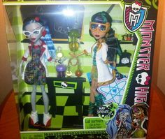 Monster High Ghoulia and Cleo 2-pack just released