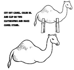 http://www.artistshelpingchildren.org/crafts-images/animals/camel-clothespins-bw-printables.png