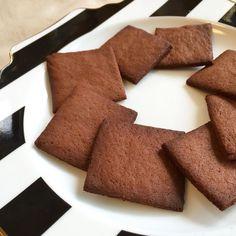 高野豆腐でサクサク♡リッチなチョコがけクッキー | モモイロ カフェ