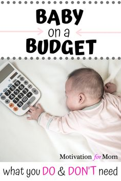 If you're preparing for having a baby on a budget, don't miss out on this list of what you DO and DON'T need for a new baby. Plus some bonus tips on even more ways to save money having a baby! It's possible to have a baby on a tight budget with these tips. #babyonabudget #savemoneyonbaby #newbaby #whatyouneedforbaby #babychecklist Baby On A Budget, Baby Checklist, Preparing For Baby, Natural Birth, First Time Moms, Tight Budget, Baby Needs, Having A Baby, Ways To Save Money