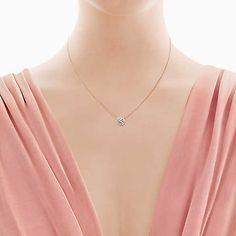 e8cc0cd75 16 Best Jewelry images | Tiffany necklace, Diamond necklaces, Drop ...