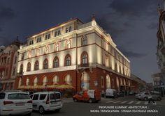 Hotel Transilvania 1, Oradea, Romania. Hungary, Romania, Budapest, Architecture Art, Art Nouveau, Marvel, Album, Mansions, House Styles