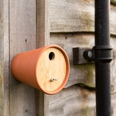 Flower Pot Bird House | Bird Box || ❗️Clay pots will create enough heat to cook the eggs or the chicks. Use light-colored Plastic Pots or paint the Pots. Protect nest from sun and from north wind for our year-round friends❗️