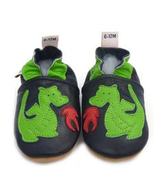 Take a look at this Green Dragon Booties - Infant, Toddler & Kids by Galipatte on #zulily today!