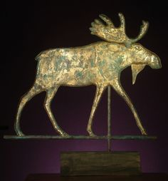 Antique Moose Weather Vane