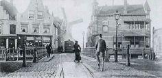 Historisch Delfshaven:  Mathenesserdijk, De kop en de sluis rond 1900