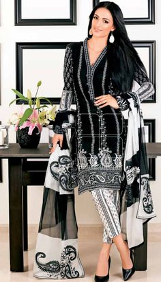 Pakistani Designer Lawn Collection available at Sahil.