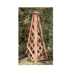 Pyramid Cedar Trellis Natural 81