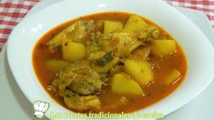 Receta de guiso de pollo tradicional de la Abuela